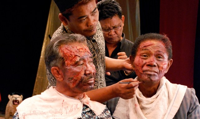 The Act Of Killing saw those responsible for Indonesian genocide re-enact their heinous crimes (Picture: supplied)