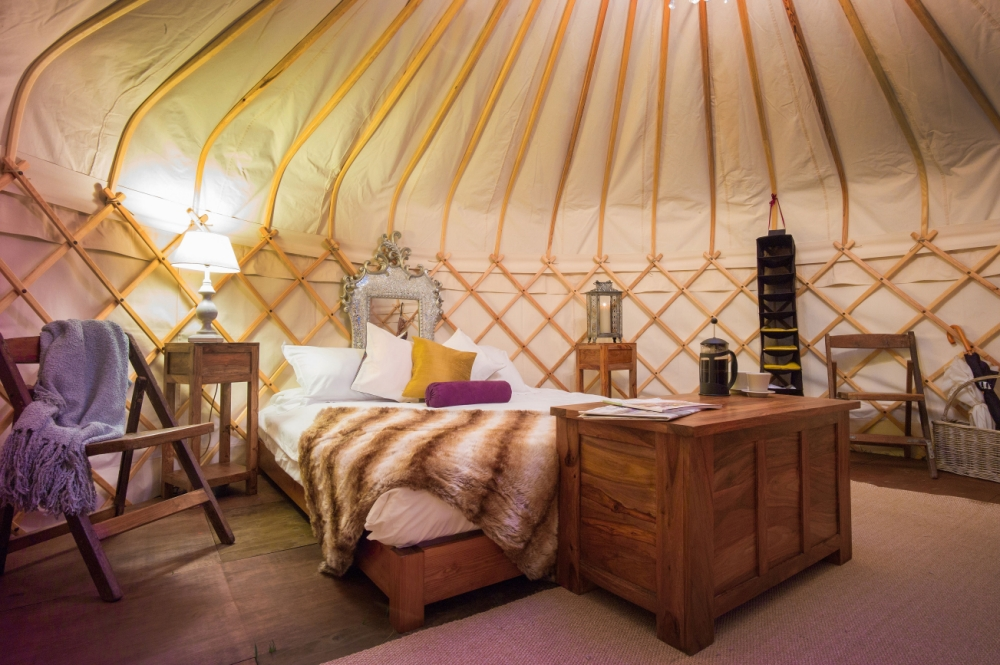 Glastonbury: Mick Jagger's tent is significantly better than yours