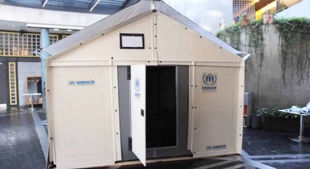 The flatpack refugee camp? This Ikea crate idea could change lives