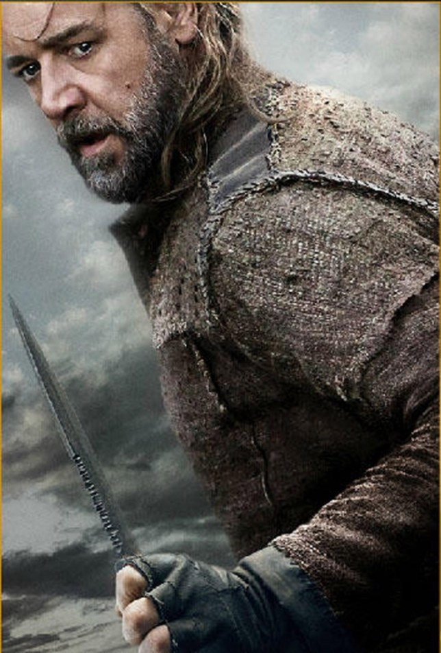 BIBLICAL MOVIE EPIC NOAH.   NEW PICTURES nnThe Biblical Noah suffers visions of an apocalyptic deluge, and takes measures to protect his family from the coming flood. nnPicture shows: Russell Crowe as Noahn74018nEDITORIAL USE ONLY