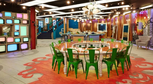 Big Brother house 2013