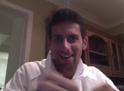 Wimbledon 2013: Novak Djokovic throws punches at Dolph Lundgren on Twitter video