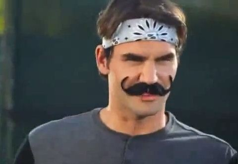 Roger Federer fails to disguise his  greatness ahead of Wimbledon – video