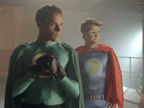 Andy Jordan, Spencer Matthews, Jamie Laing and Lucy Watson become superheros in new Made In Chelsea trailer