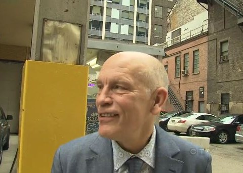 John Malkovich saved my life, claims man, 77, who tripped and slit his throat in Toronto