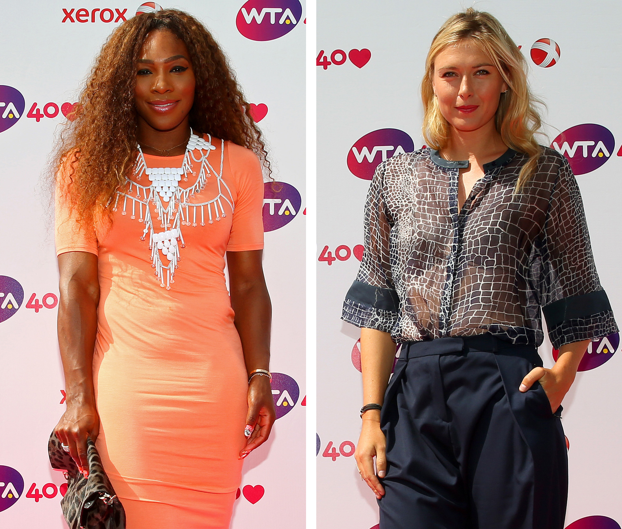 Gallery: Women's Tennis Association celebrates 40 years