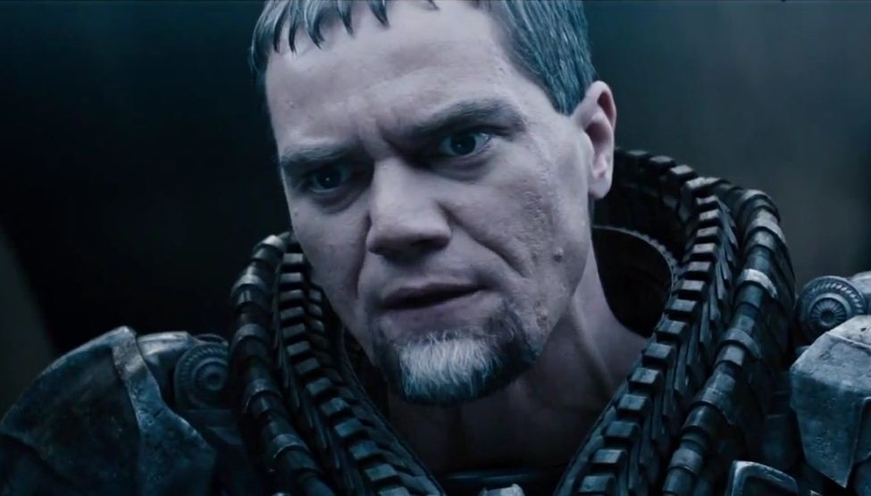 Michael Shannon plays antagonist General Zod in Man of Steel (Picture: Warner Bros)