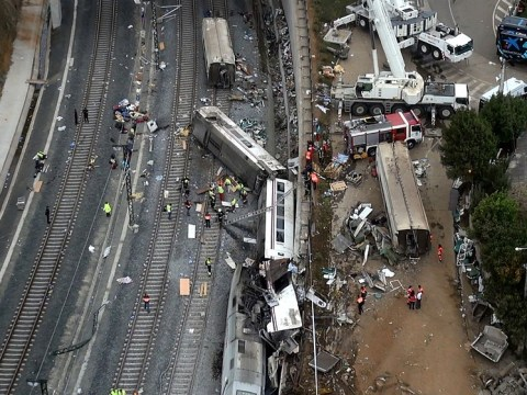 Train in Spain crash 'travelling well above speed limit' as death-toll rises again