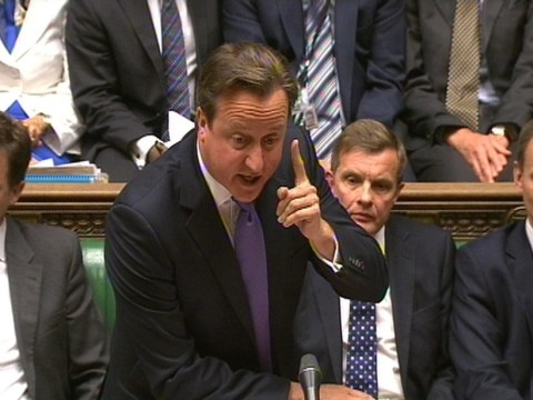 David Cameron criticised for forgetting Virginia Wade in prime minister's questions