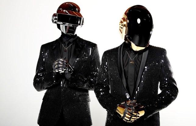 Thomas Bangalter and Guy-Manuel de Homem-Christo from Daft Punk have dominated the charts. Pic: Matt Sayles/Invision/AP