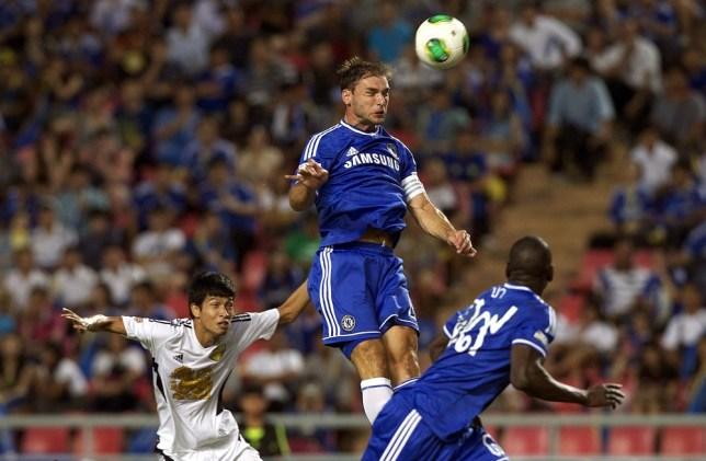Branislav Ivanovic of Chelsea (Picture: Getty Images)