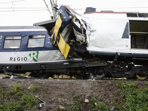 Dozens hurt after head-on train collision in Switzerland