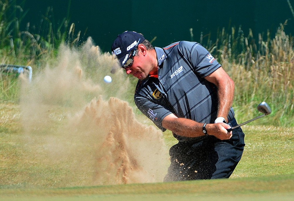 The Open 2013: Lee Westwood wants to know Ashes score after finishing second round at Muirfield