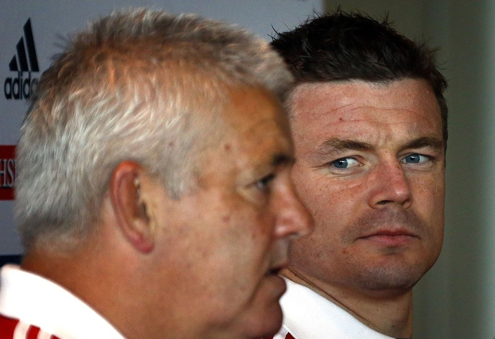 Dropping Brian O'Driscoll: What they said about Lions coach Warren Gatland's shock call