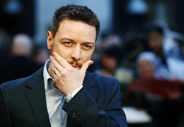 James McAvoy and Irvine Welsh had the conversation on the set of Filth (Picture: Reuters)