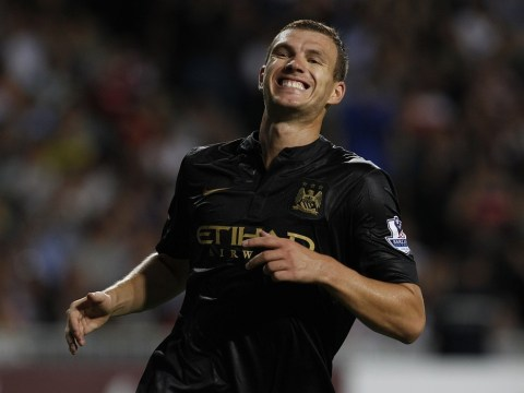 Manchester City boss Manuel Pellegrini insists Edin Dzeko will be his first-choice striker