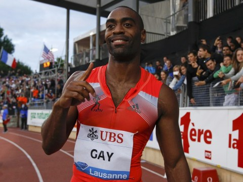 Tyson Gay storms to superb 100m win in Lausanne