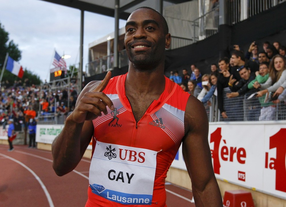 Tyson Gay 'let down' after testing positive for banned substance