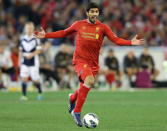Still looking for exit: Luis Suarez (Picture: Getty Images)