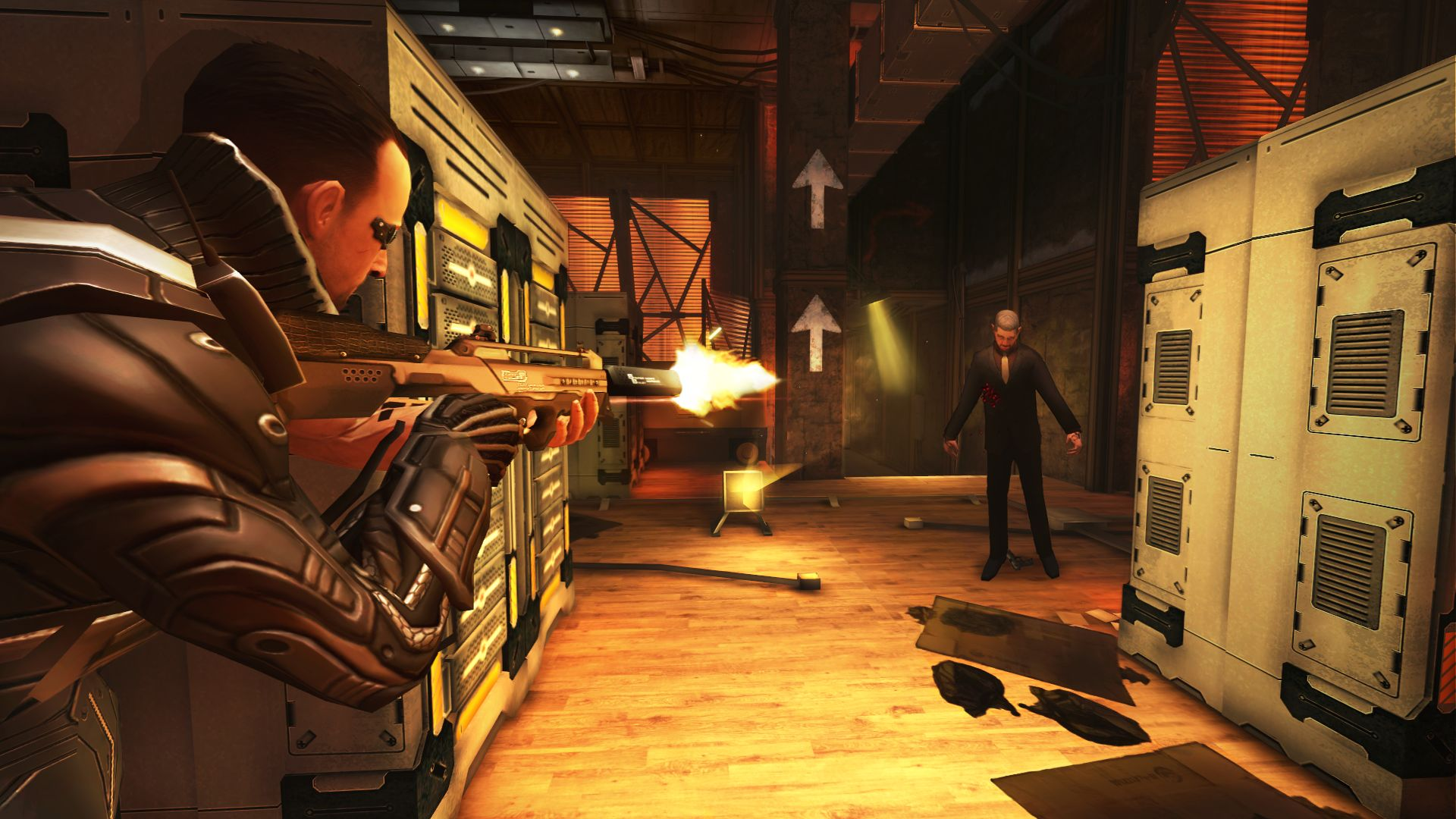 Deus Ex: The Fall (iOS) - all that glitters is not gold