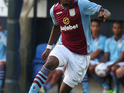 Christian Benteke celebrates new Aston Villa contract with hat-trick in win at Crewe