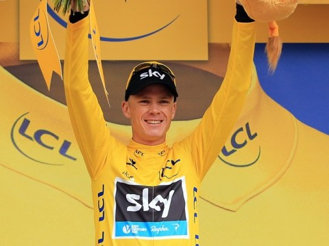 Chris Froome 'lost for words' as he nears Tour de France crown