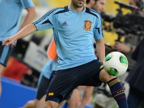 Spurs sweat on David Villa deal as Barcelona eye Wayne Rooney swap