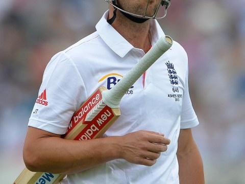 The Ashes 2013: England lose Trott early but captain Cook holds firm