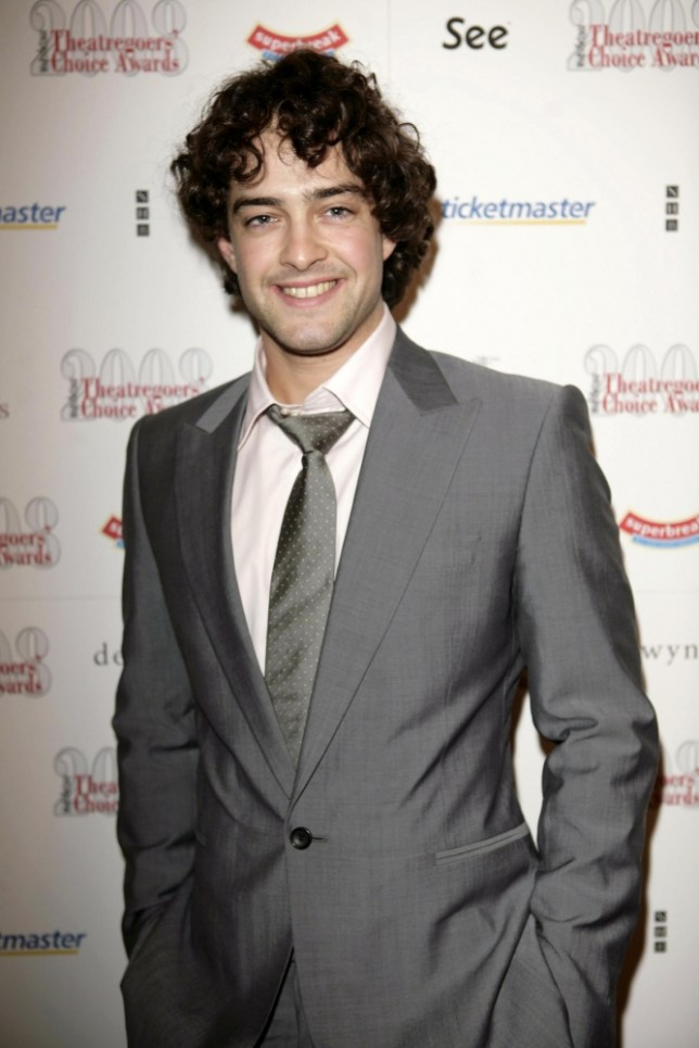 Lee Mead - who plays 'Joseph' in Joseph and the Amazing Technicolor Dreamcoat - arrives for the Whatsonstage.com Theatregoers' Choice Awards 2008 at the Lyric Theatre in central London. PRESS ASSOCIATION Photo. Picture date: Sunday February 24, 2008. See PA story SHOWBIZ Theatre. Photo credit should read: Carmen Valino/PAWire