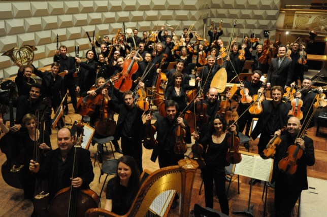 Les Siecles performs Stravinsky's Rite Of Spring on Sunday (Picture: A Klostermann)