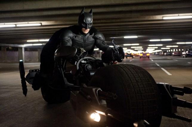 Film: The Dark Knight Rises (2012) Christian Bale as Batman.   (AP Photo/Warner Bros. Pictures, Ron Phillips)