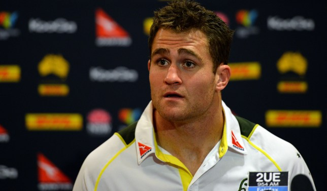 Australian Wallabies captain James Horwi