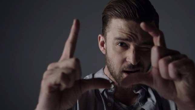 Justin Timberlake has unveiled his new video (Picture: RCA Records)