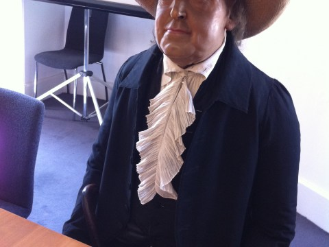 181-year-old corpse of Jeremy Bentham attends UCL board meeting