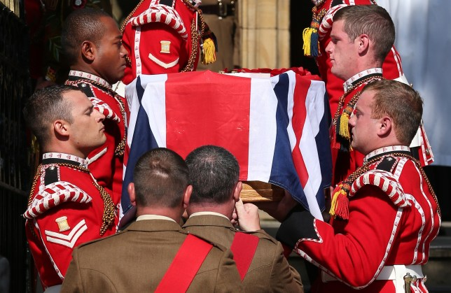Lee Rigby's family and friends gathered for an emotional vigil (Picture: Getty)