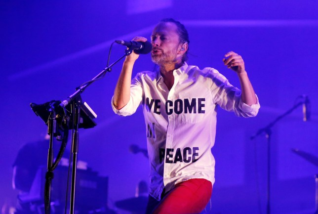 Thom Yorke has pulled his music from Spotify (Picture:  Reuters)