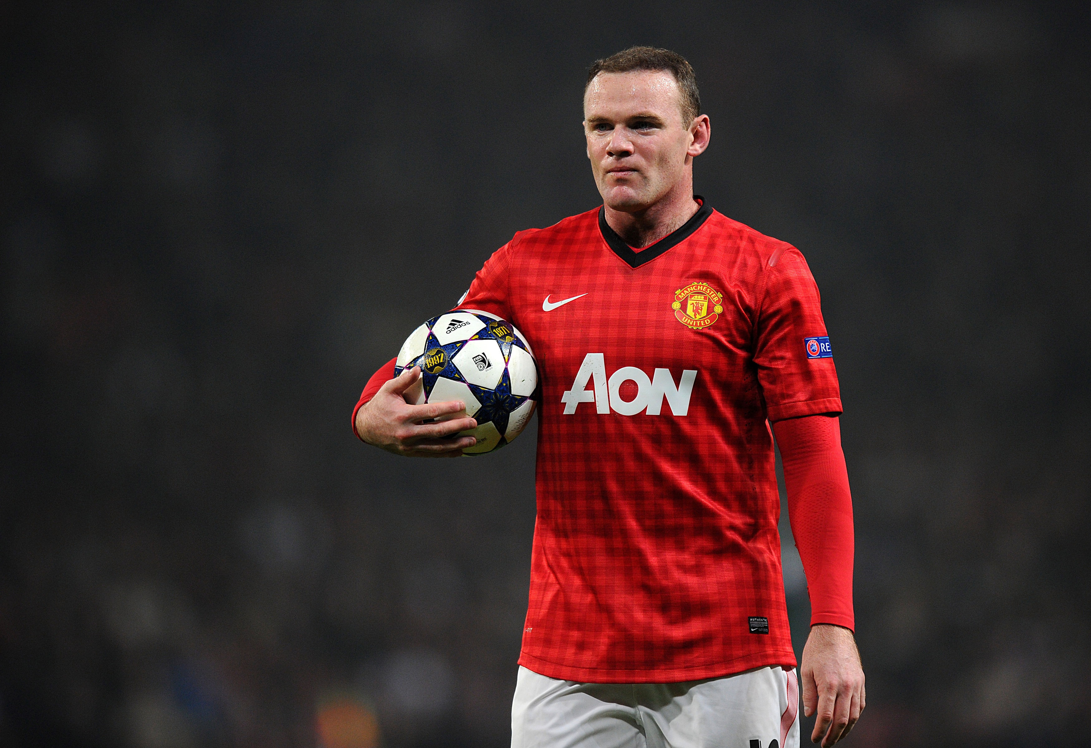 Blue horizons: Rooney has heart set on a move to Chelsea (Picture: PA)