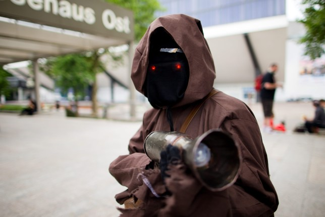 Gotta love this Jawa at a previous Star Wars Celebration (Picture: EPA/Rolf Vennenbernd)
