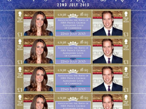 Special delivery: £1 stamp to mark birth of Prince George