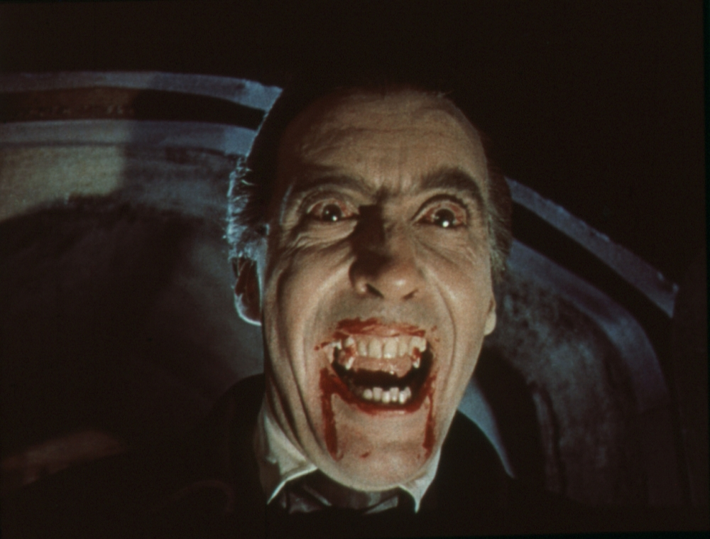 Film: Horror of Dracula  Year: 1958 - UK  Pictured: Christopher Lee  Director: Terence Fisher