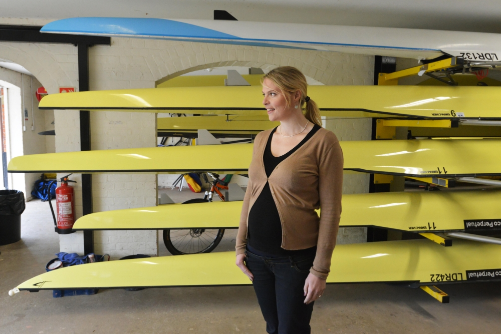 Anna Watkins: When I started rowing, I was down to my last pennies