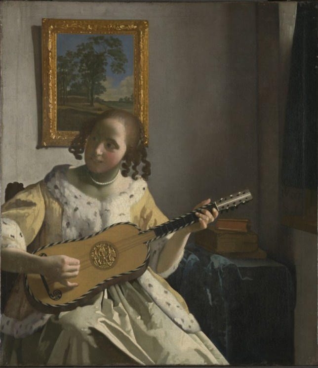 Vermeer's The Guitar Player (Picture: English Heritage/The National Gallery, London)