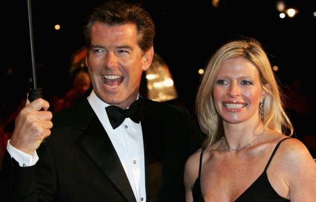 FILE  JULY 01:  Charlotte Brosnan, daughter of Pierce Brosnan, died of cancer.  She was 42. LONDON - FEBRUARY 19:  Actor Pierce Brosnan (left) and daughter Charlotte arrives at The Orange British Academy Film Awards (BAFTAs) at the Odeon Leicester Square on February 19, 2006 in London, England.  (Photo by Gareth Cattermole/Getty Images)
