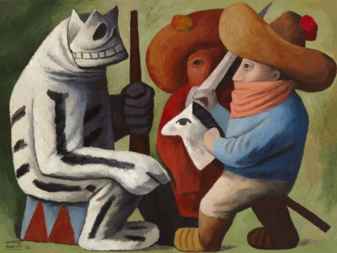 Diego Rivera, David Alfaro Siqueiros and José Clemente Orozco: The magic of Mexico's muralists