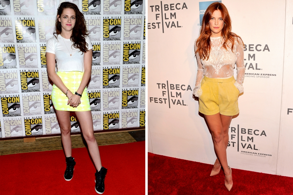 Face Off: Kristen Stewart v Riley Keough – the Twilight actress and granddaughter of Elvis Presley fight it out over Robert Pattinson