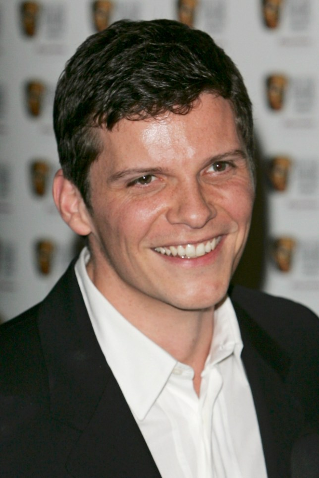 LONDON - MAY 07:  (NOT FOR PUBLICATION IN ANY MEDIUM UNTIL 21:30 GMT MAY 7, 2006.)  Actor Nigel Harman poses in the Awards Room with the award for Continuing Drama for Eastenders at the Pioneer British Academy Television Awards 2006 at the Grosvenor House Hotel on May 7, 2006 in London, England.  (Photo by Gareth Cattermole/Getty Images)