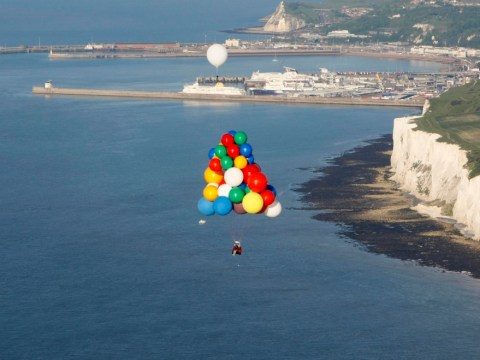 Madcap balloonist hoping to fly across the Atlantic