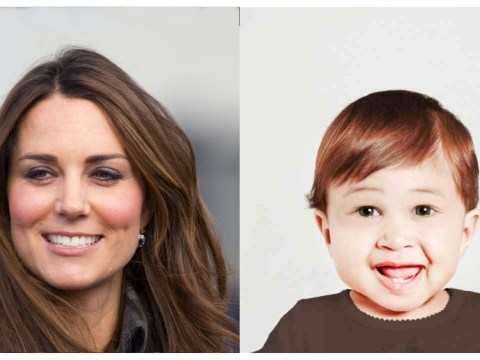 Kate and Wills and Andy Murray returned to childhood by new app