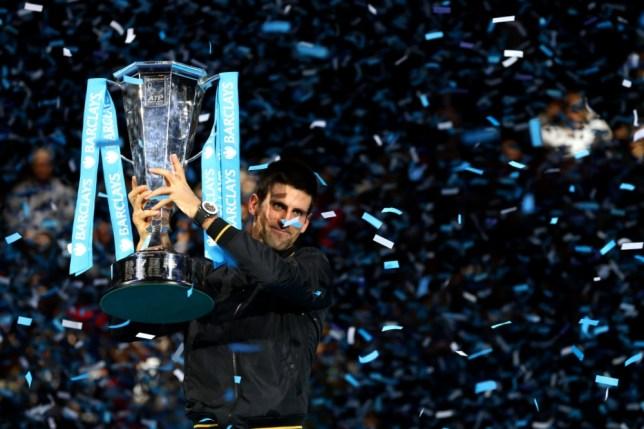 Novak Djokovic beats Roger Federer in 2012 ATP World Tour