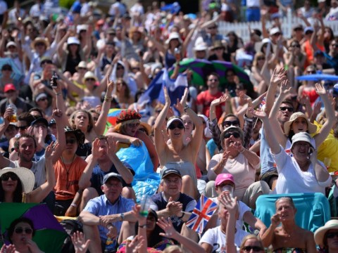 Carnival in the sunshine as nation goes wild for Murray mania
